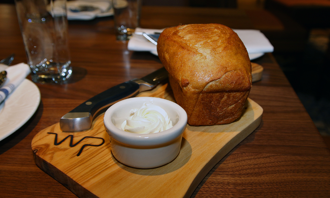 Fresh Bread at Whiskey Prime Steakhouse in Arlington WA