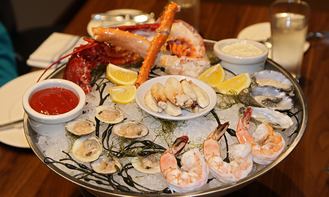 Fresh Seafood at Whiskey Prime in Snohomish County